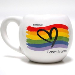 Taza Burbuja Love is Love