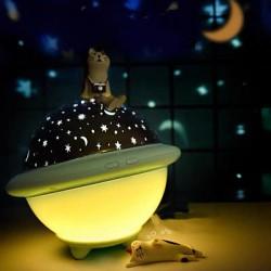 Lampara/Luz/Velador/Proyector Planeta