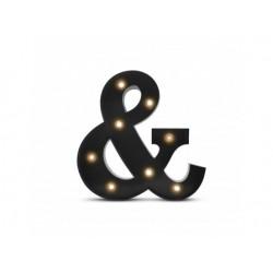 Luz/Lámpara de Metal Decorativa Circus Ampersand