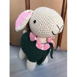Muñeco Amigurumi Crochet Cordero