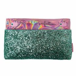 Cartuchera Estuche Con Bolsillo Glitter