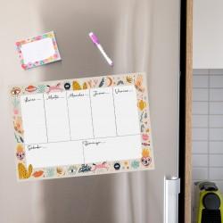 Anotador/Organizador/Planificador Imantado Semanal