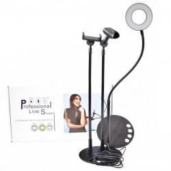 Soporte Celular con Aro de Luz Flexible