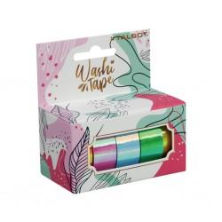 Washi Tape Holográfica Caja x 5