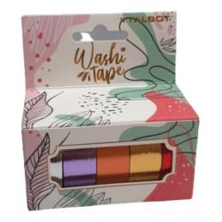 Washi Tape Metallic Caja x 5