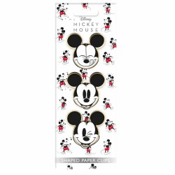Paper Clips Con Forma Mickey Mouse x3 Pcs