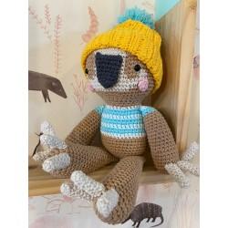 Muñeco Amigurumi Crochet Peresozo Pica