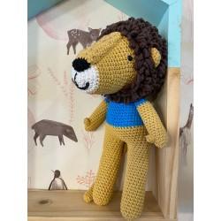 Muñeco Amigurumi Crochet Leon Pica