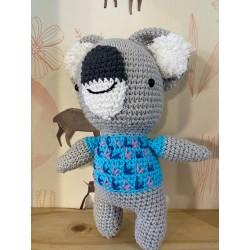 Muñeco Amigurumi Crochet Koala Pica