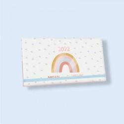 Agenda 2022 Semana a la Vista Pocket Rainbow Sueña