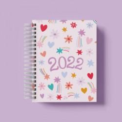 Agenda 2022 Día x Día Happy Fiesta