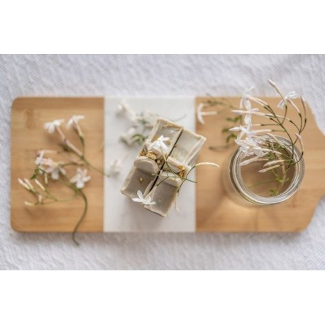 Jabón de Jazmín y Arcilla Verde