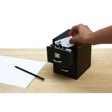 Mini Armario Metálico con Cajones Master File