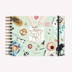 Cuaderno Monoblock Apaisado de la Imaginación Macanudo con Diseños de Autor