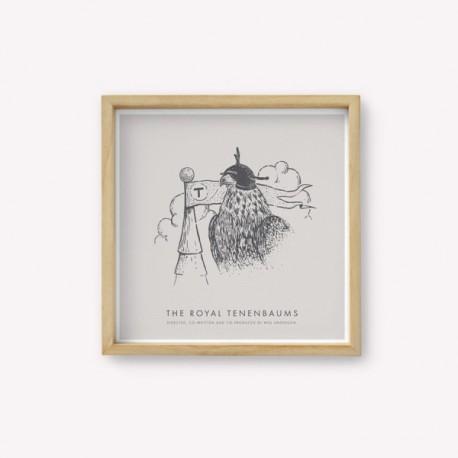 Lámina Serigrafía Monoblock con Diseños de Autor 30 x 30 cm.