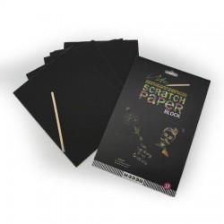Cuaderno para Dibujar/Raspar Scratch Paper