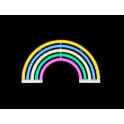 Luz/Lámpara Decorativa Neon con forma de Arco Iris