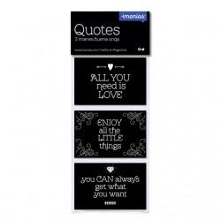 Iman Mensajes Quotes x 3
