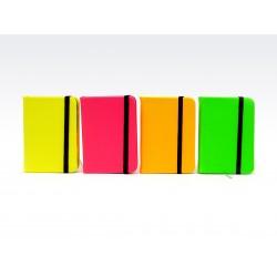Cuaderno/Anotador/Libreta Liso Flúo