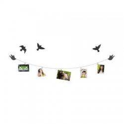 Portarretrato Display Photoclicp Birdie con Cable de acero
