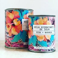 Vela de Soja Hidratante en Lata 1/2 Litro