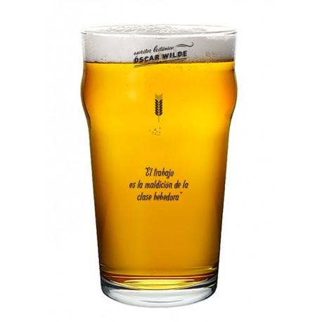 Vaso Cervecero con Frases