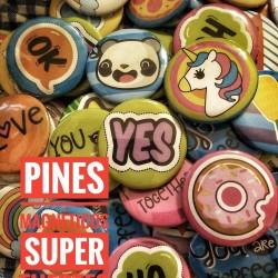 Iman Pin Diseños Varios pack x 2