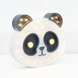 Luz/Lámpara Decorativa de Madera con Formas Panda