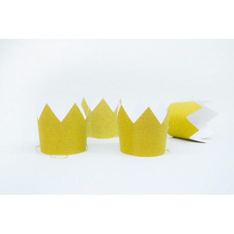 Bonete Corona de Papel para Cumpleaños Infantiles (precio por unidad)