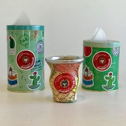 Lata Yerbera con Diseños de Autor Almandina