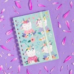 Cuaderno Anillado A6 Diseños Varios