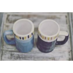 Vaso/Taza para Chopp Pericles de Cerámica Hecho a Mano