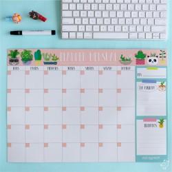 Anotador/Organizador/Planificador Imantado Mensual