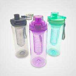 Botella Plastica con Tapa Automática e Infusor