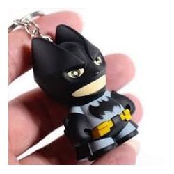 Llavero Plástico con Luz y Sonido Batman