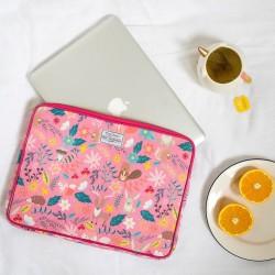 Funda Porta Tablet 10' en Tela Gamuzada Diseños Varios