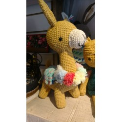 Muñeco Amigurumi Crochet Llama Alpaca Yani