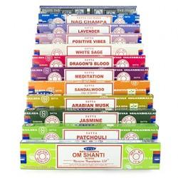 Sahumerios Importados Premium Satya (caja x 15 varillas)