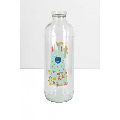 Botella de Vidrio con Tapón Diseños Norte