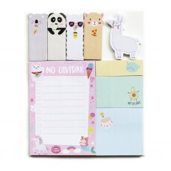 Sticky Notes Animalitos. Pin.