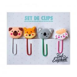 Clip/Ganchos de Oficina Animalitos