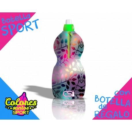 Botella Deportiva con Funda de Neoprene