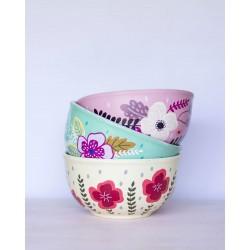 Bowl de Barro Pintado a Mano Grande (17 cm)