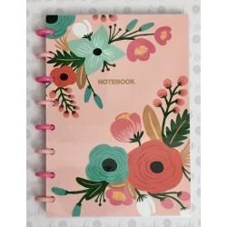 Cuaderno Booki A5 Discos Chicos 100 hojas