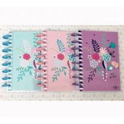 Cuaderno Booki A5 Discos Grandes 120 hojas