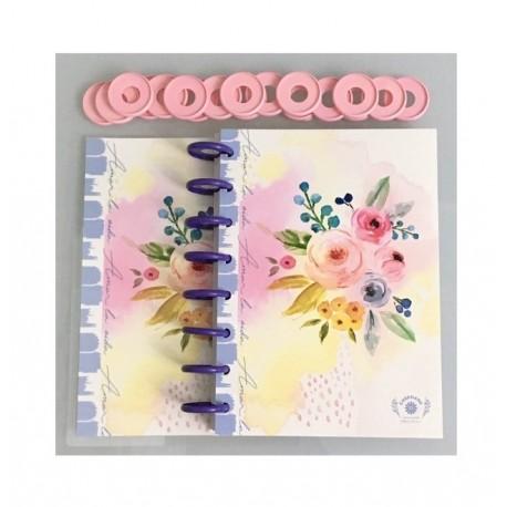 Cuaderno Booki A4 Discos Chicos 100 hojas