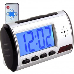 Reloj Despertador con Cámara Espía y Micrófono