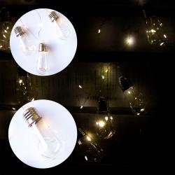 Guirnalda de Luces Foquitos Luz Arroz x 10 a Pilas