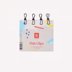 Clips Fish Chicos x 4