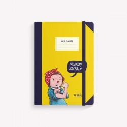 Cuaderno Monoblock Pocket (12 x 17 cm) Cosido con Diseños de Autor
